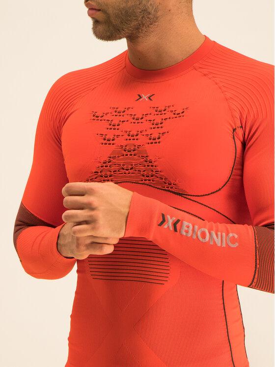 X-Bionic X-Bionic Термооблекло горна част Energy Accumulator 4.0 EAWT06W19M Оранжев Slim Fit