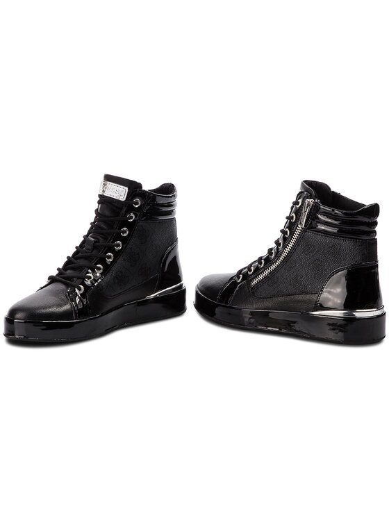 Guess Guess Sneakers FLVND3 PEL12 Schwarz