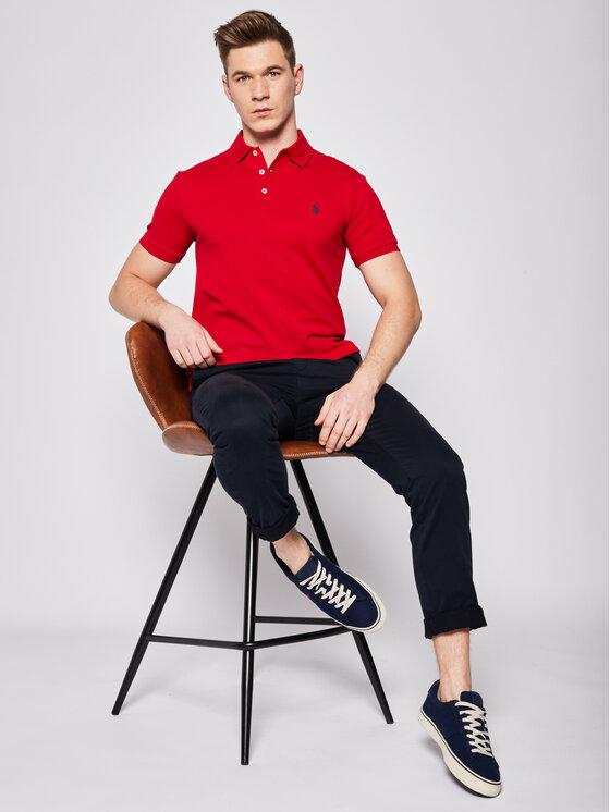 Polo Ralph Lauren Polo Ralph Lauren Polo 710541705 Czerwony Slim Fit