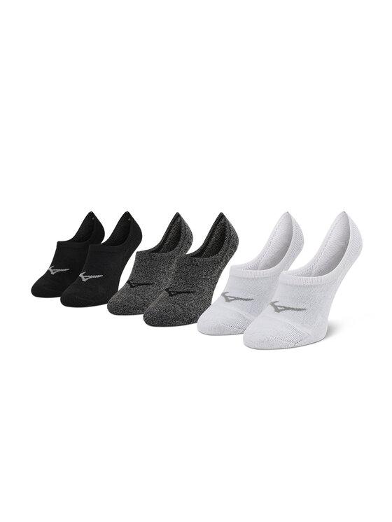 Mizuno Vyriškų pėdučių komplektas (3 poros) Super Short Socks 3P J2GX005577 Spalvota