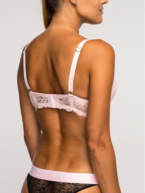 Guess Guess Reggiseno Push-up O92C10 PZ016 Rosa