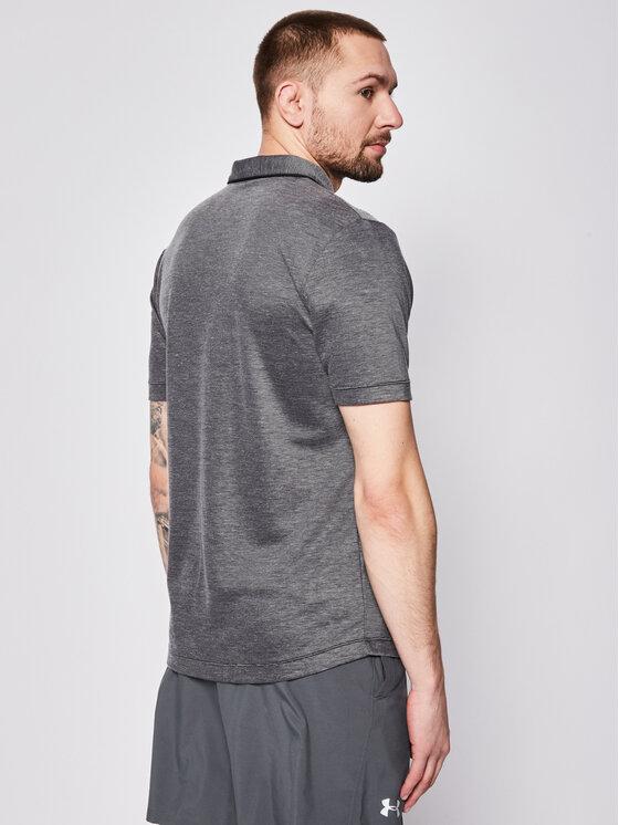 Wilson Wilson Techniniai marškinėliai Training Polo WRA774205 Pilka Regular Fit