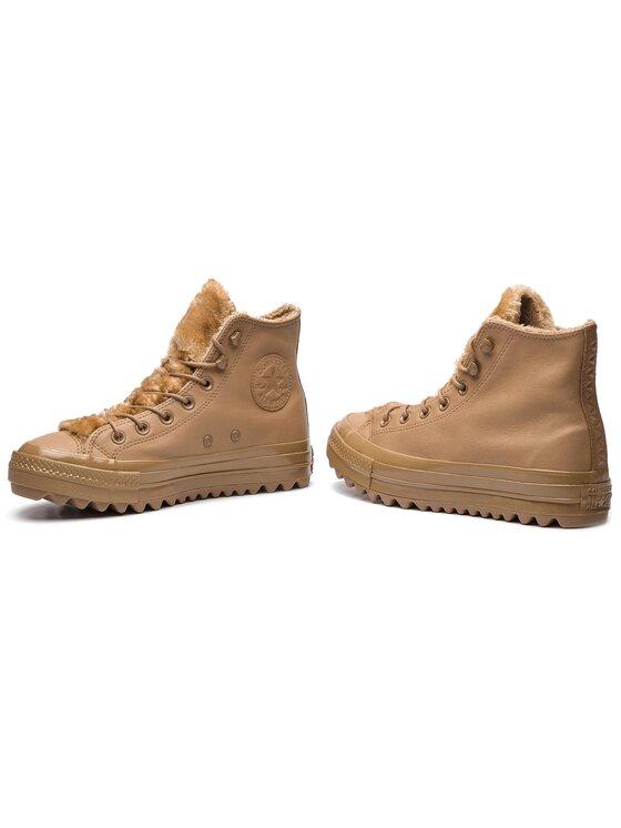 Converse Converse Sneakersy Ctas Lift Ripple Hi 562424C Beżowy