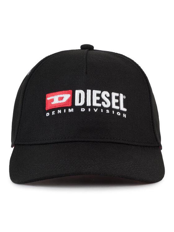 Diesel Diesel Šiltovka Cakerym-Max Hat 00SIIQ 0LAOI 900 Čierna