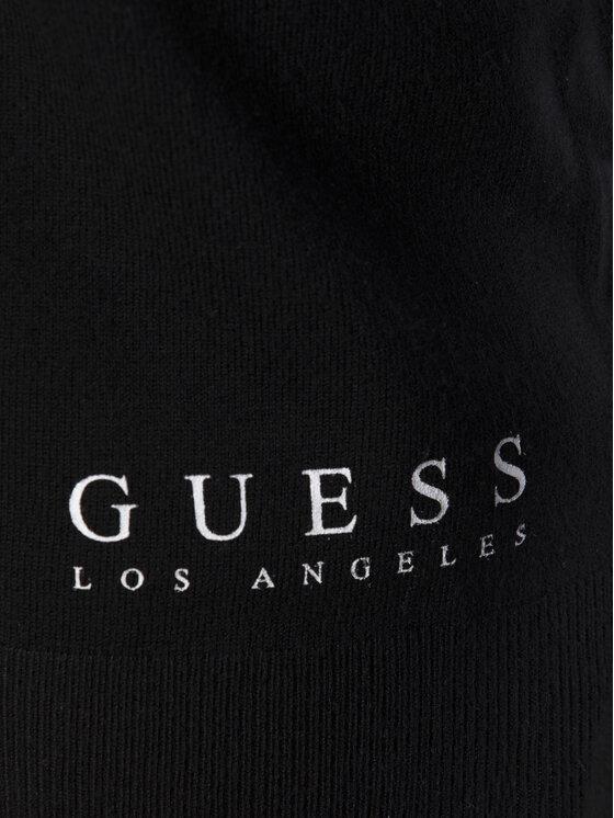 Guess Guess Bluză W92R48 Z2760 Negru Regular Fit