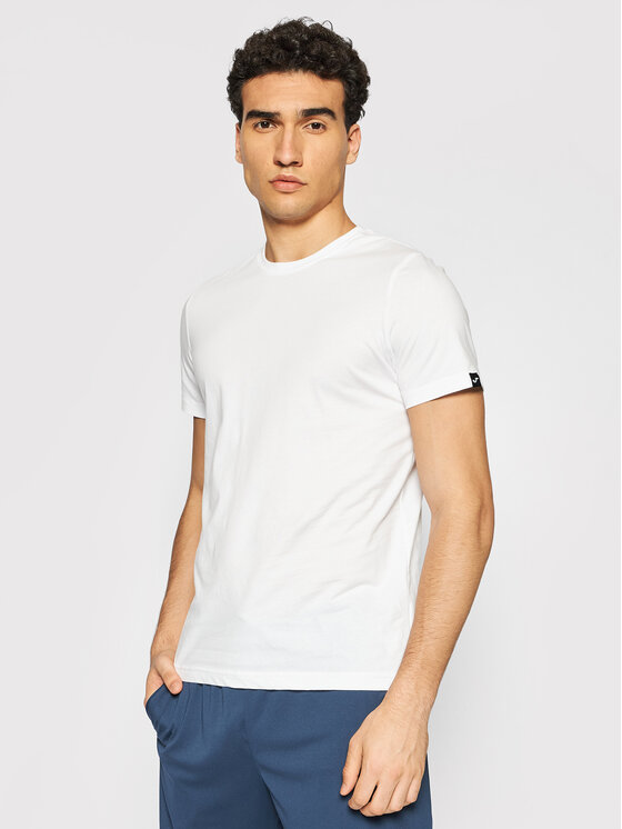 Joma Marškinėliai Desert 101739.200 Balta Regular Fit