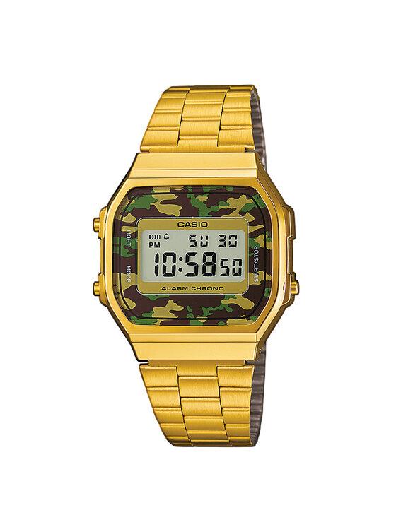 Casio Laikrodis A168WEGC-3EF Auksinė