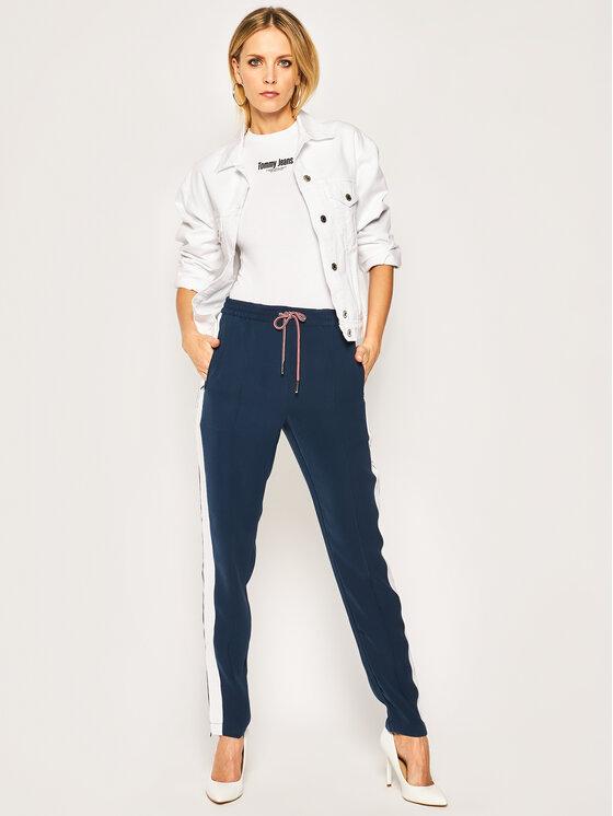 Tommy Jeans Tommy Jeans Body DW0DW08253 Bílá Slim Fit