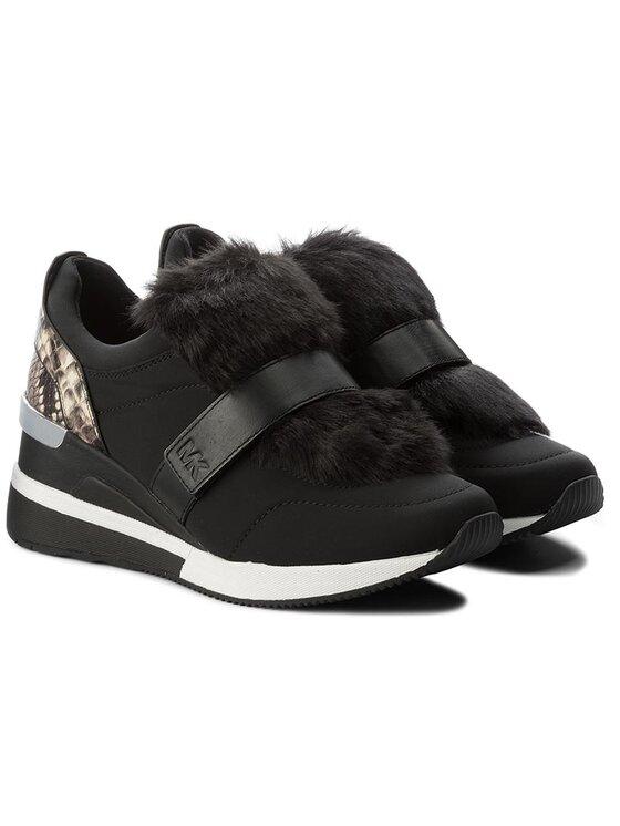 MICHAEL Michael Kors MICHAEL Michael Kors Sneakersy Maven Trainer 43F7MVFS3D Černá