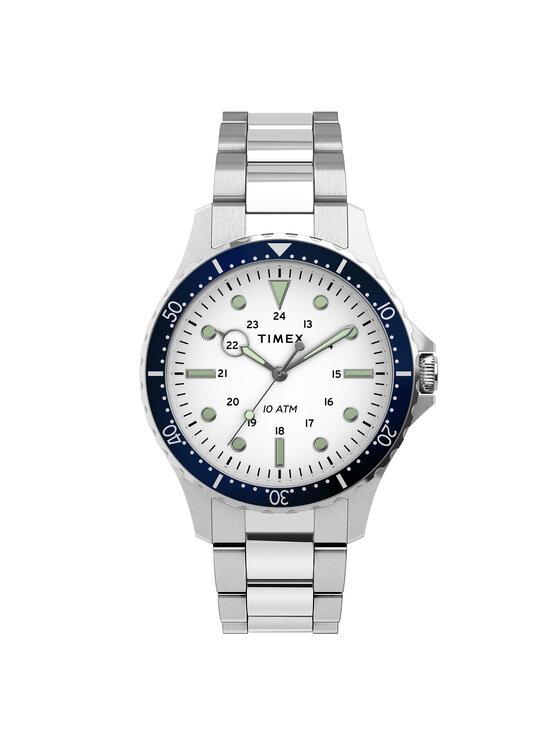 Timex Laikrodis Navi TW2U10900 Sidabrinė