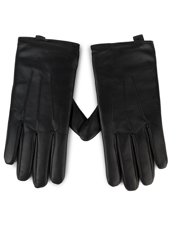 Guess Guess Mănuși pentru Bărbați Not Coordinated Gloves AM8577 LEA02 Negru