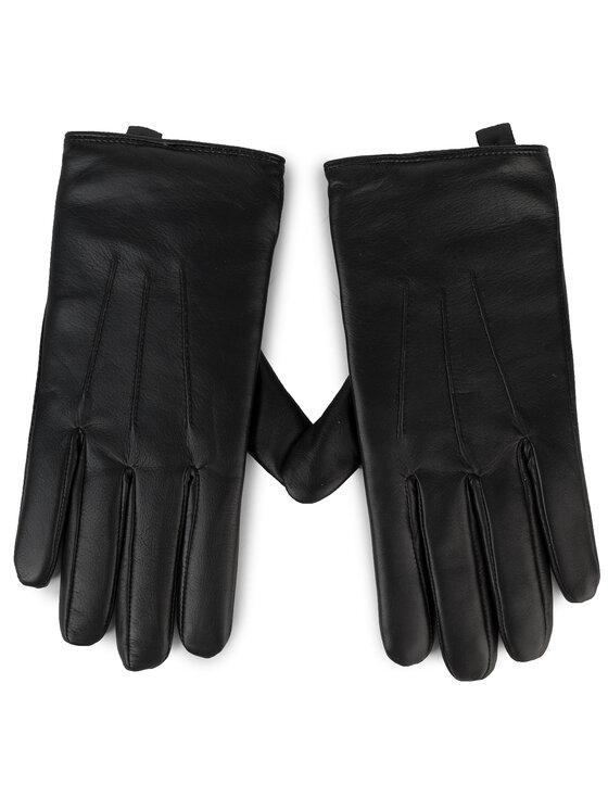Guess Guess Pánske rukavice Not Coordinated Gloves AM8577 LEA02 Čierna