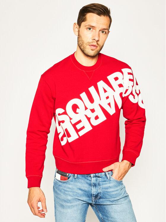 Dsquared2 Džemperis S75GU0282 Raudona Regular Fit