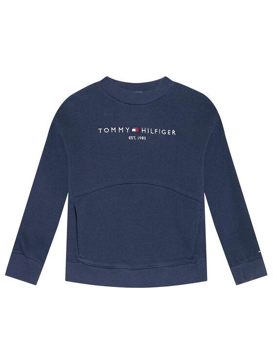 Tommy Hilfiger Tommy Hilfiger Bluza Essential KG0KG05764 D Granatowy Regular Fit