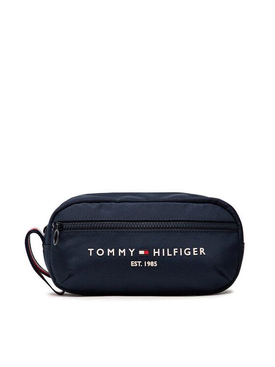 Tommy Hilfiger Tommy Hilfiger Kosmetyczka Th Established Washbag AM0AM07845 Granatowy