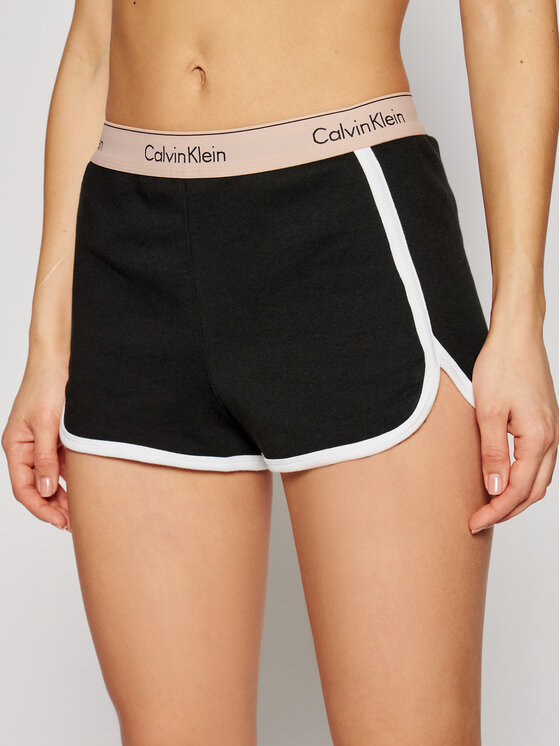 Calvin Klein Underwear Calvin Klein Underwear Szorty sportowe Sleep 000QS5982E Czarny Regular Fit