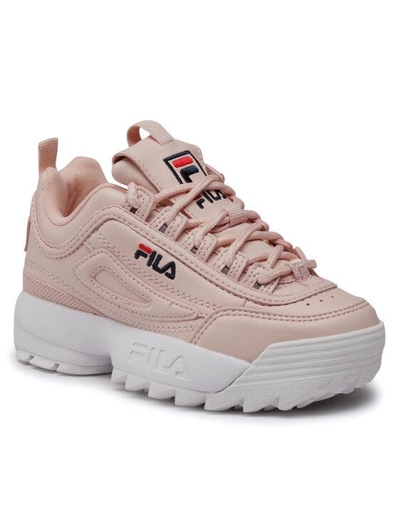 Fila Fila Sneakersy Diruptor Kids 1010567.72W Różowy
