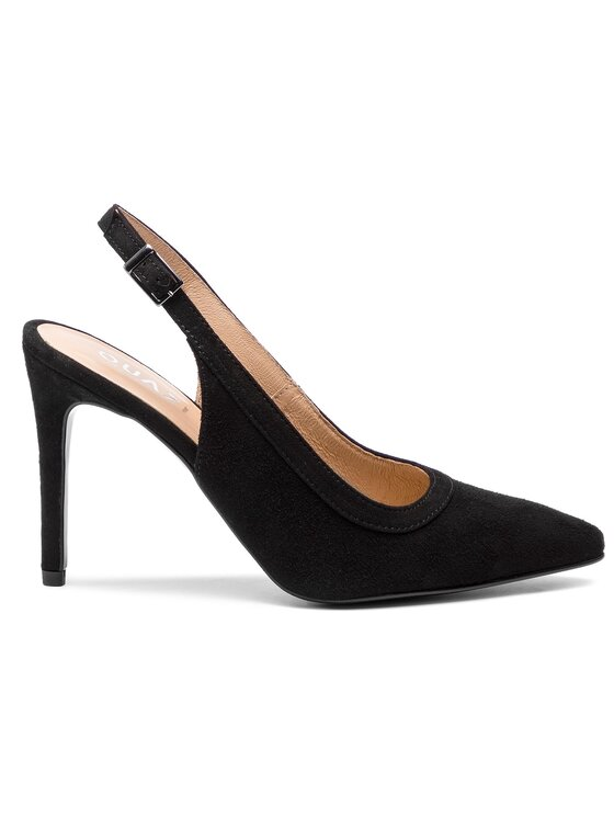 QUAZI QUAZI Sandále QZ-15-02-000131 Čierna