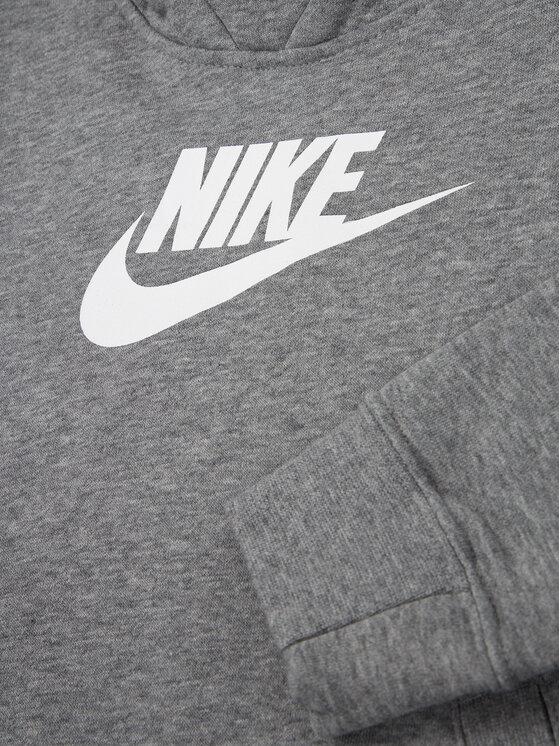 Nike Nike Bluză Sportswear BV2717 Gri Regular Fit