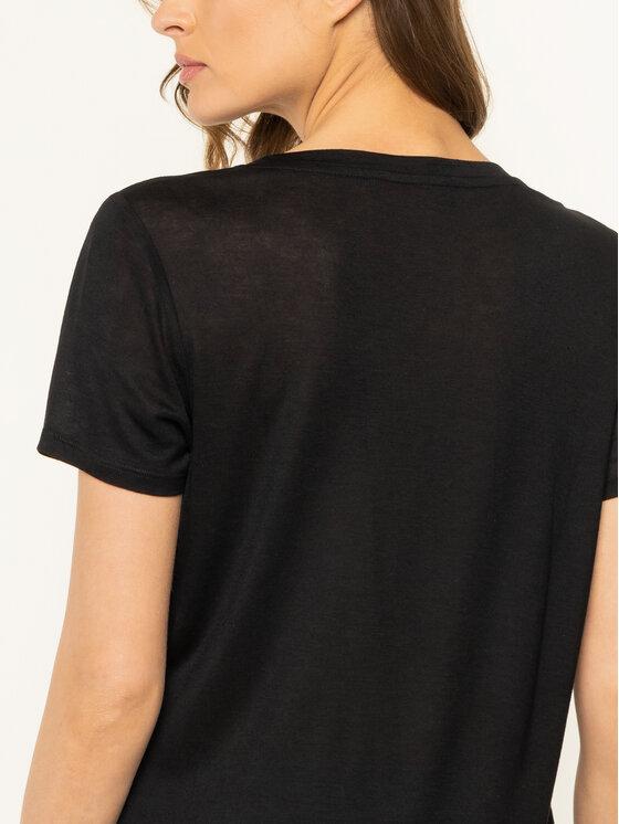 Trussardi Trussardi T-Shirt 56T00242 Czarny Regular Fit