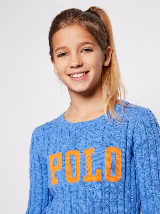 Polo Ralph Lauren Polo Ralph Lauren Pullover Cable 313792826 Blau Regular Fit