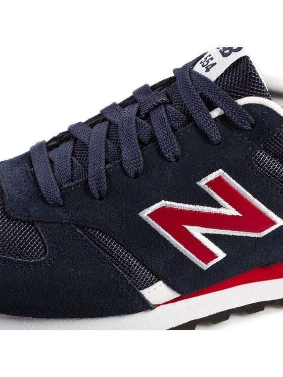 New Balance New Balance Sneakersy Classics M554NRW Granatowy