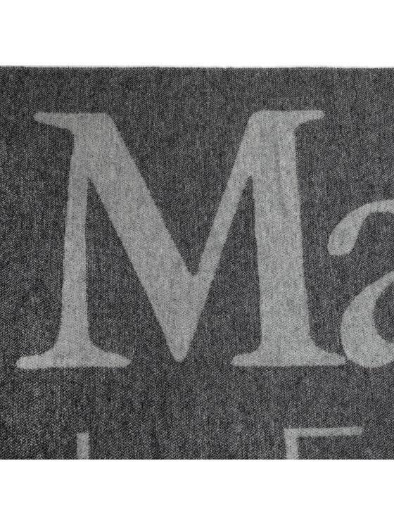 Max Mara Max Mara Sciarpa Fernet 35460296.600 Grigio