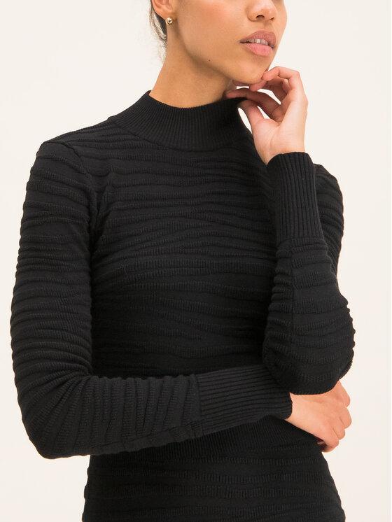 Hugo Hugo Robe en tricot Sumeeya 50430666 Noir Slim Fit