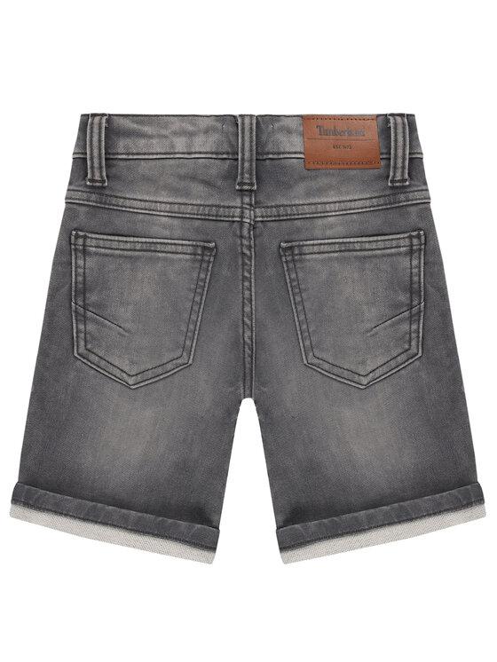 Timberland Timberland Szorty jeansowe T24A95 M Szary Regular Fit