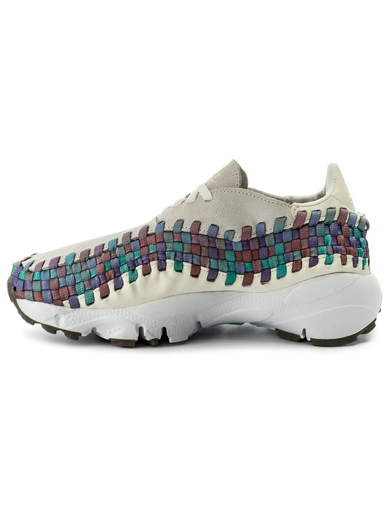 Nike Nike Buty Air Footscape Woven 917698 100 Beżowy