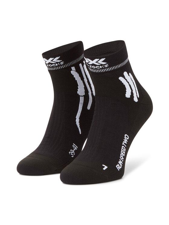 X-Socks Skarpety Wysokie Męskie Run Speed Two XSRS16S19U Czarny