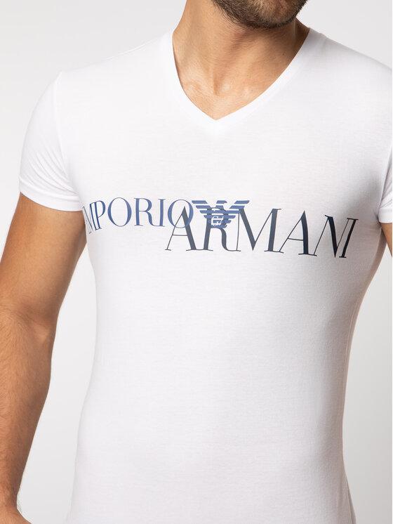 Emporio Armani Underwear Emporio Armani Underwear Tricou 110810 9P516 00010 Alb Slim Fit