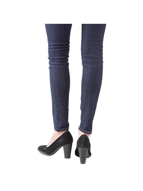 Tommy Hilfiger Tommy Hilfiger Κλειστά παπούτσια Nicole 4B FW56817735 Μαύρο