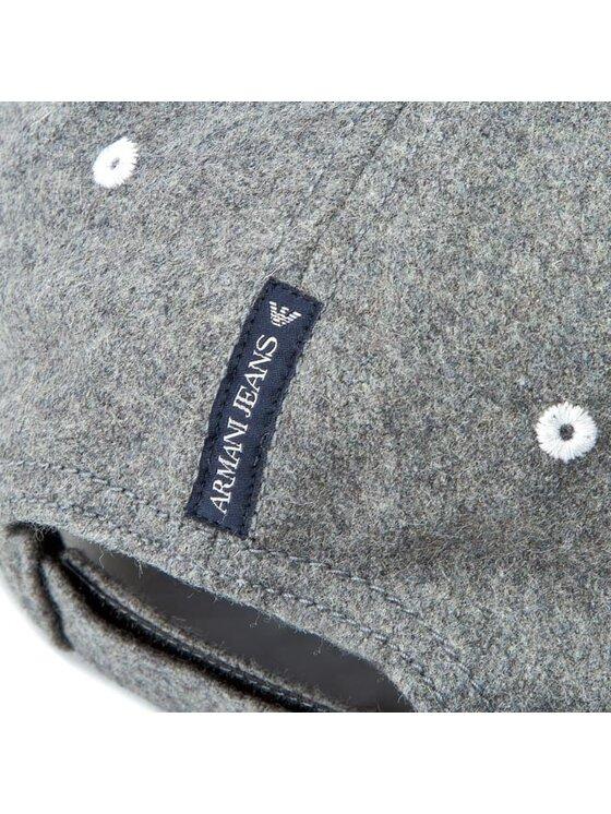 Armani Jeans Armani Jeans Czapka z daszkiem B6416 U8 R2 Szary