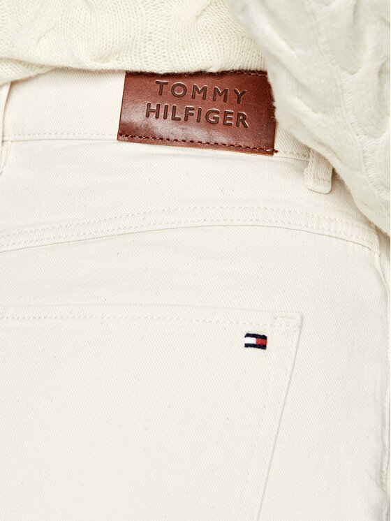 Tommy Hilfiger Tommy Hilfiger Jeansy Relaxed Fit Hw A Washed WW0WW29149 Beżowy Relaxed Fit