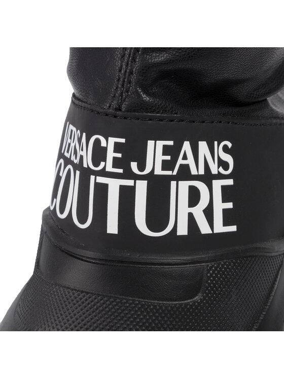 Versace Jeans Couture Versace Jeans Couture Overknees E0VUBSC3 Schwarz