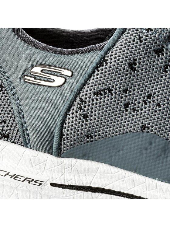 Skechers Skechers Sneakersy New Avenues 12656/CCBK Szary