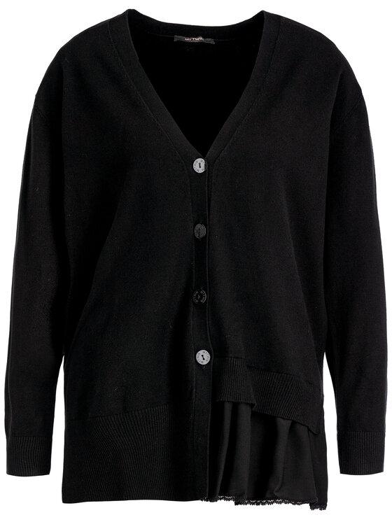 My Twin My Twin Komplet sweter i sukienka 192MT3092 Czarny Regular Fit