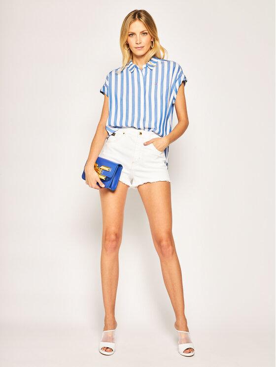 Tommy Jeans Tommy Jeans Koszula Roll Up DW0DW07953 Kolorowy Regular Fit