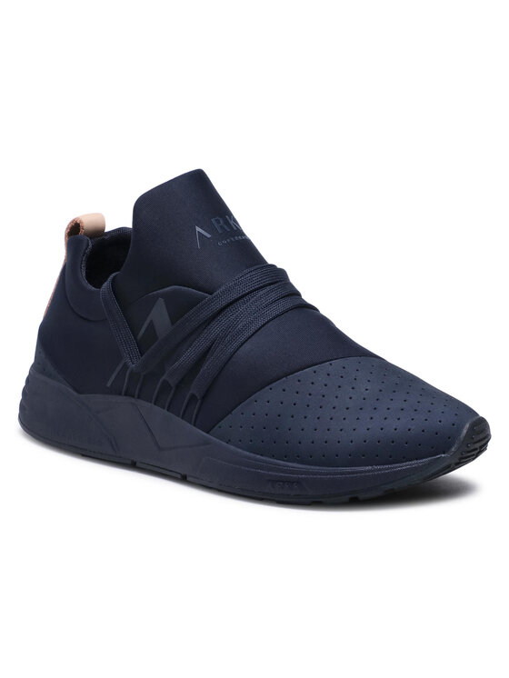 ARKK Copenhagen Laisvalaikio batai Raven Nubuck S-E15 CR1412-0052-W Tamsiai mėlyna
