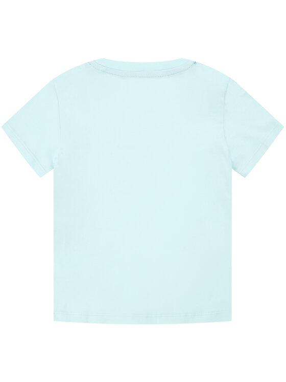 Pepe Jeans Pepe Jeans T-Shirt Waldo Short PB501279 Modrá Regular Fit