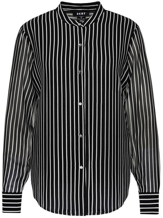DKNY DKNY Košeľa P9FAGB5T Čierna Regular Fit