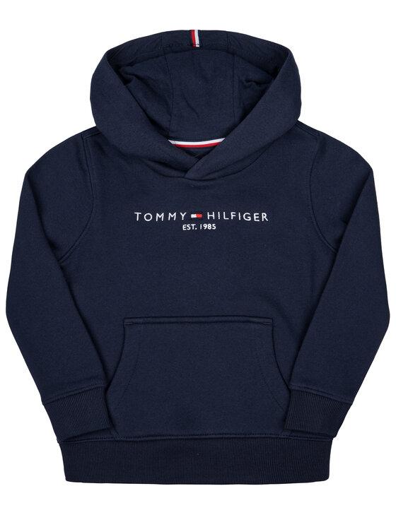 Tommy Hilfiger Tommy Hilfiger Bluza Essential KB0KB05057 D Granatowy Regular Fit