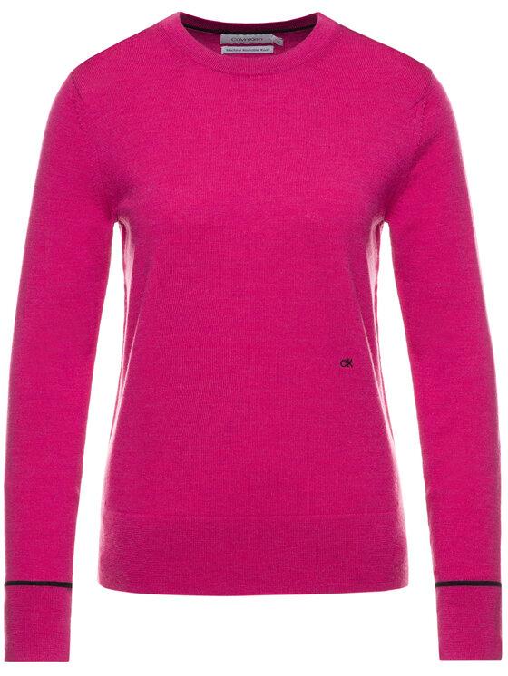 Calvin Klein Calvin Klein Sveter K20K201315 Ružová Regular Fit