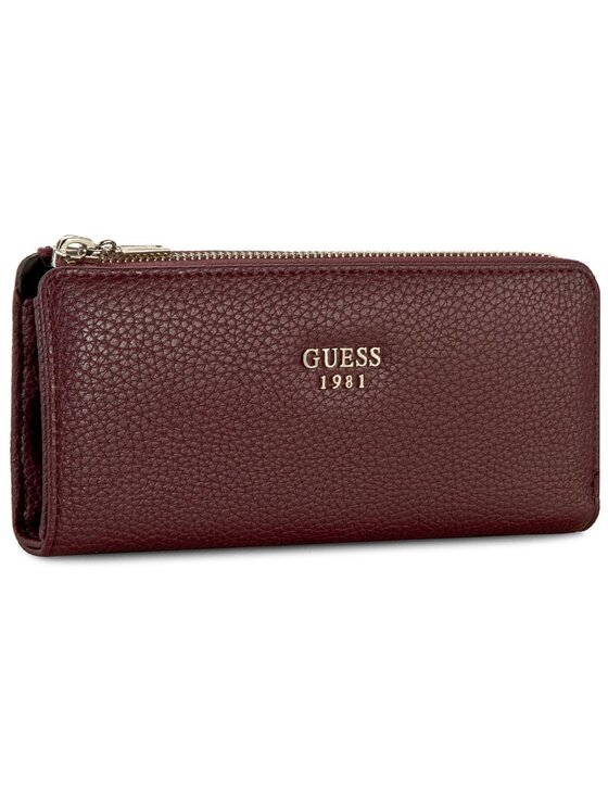 Guess Guess Голям дамски портфейл Cate (VG) Slg SWVG62 1652 Бордо