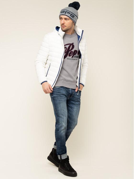 Pepe Jeans Pepe Jeans Daunenjacke Rick PM402138 Weiß Regular Fit