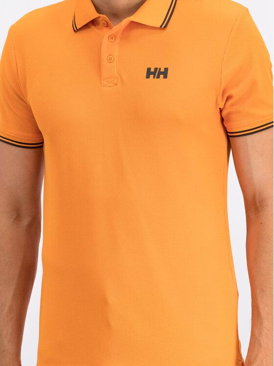Helly Hansen Helly Hansen Polo Kos 34068 Pomarańczowy Slim Fit