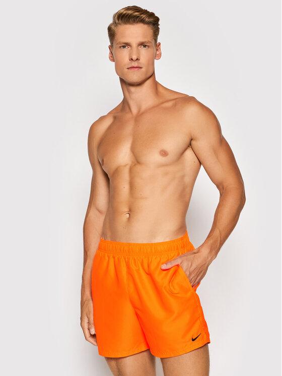 Nike Nike Szorty kąpielowe Essential NESSA560 Pomarańczowy Regular Fit