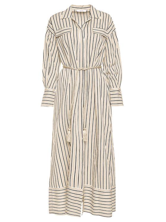 iBlues iBlues Košilové šaty Ramarro 72210902 Béžová Regular Fit