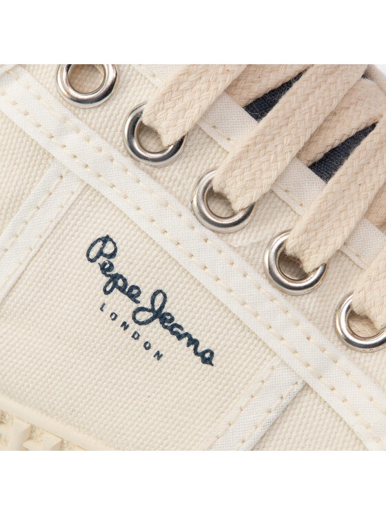 Pepe Jeans Pepe Jeans Sneakers Belife Girl PGS30407 Blanc